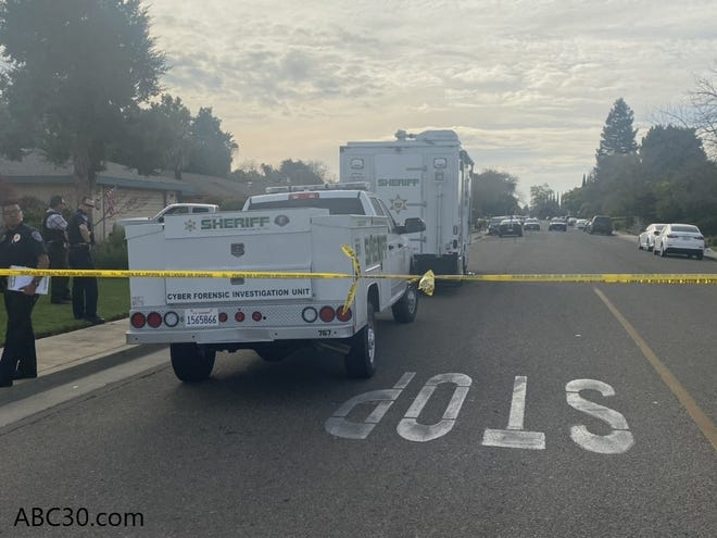 A 43-year-old Dinuba woman was killed after shooting at police on Monday, March 9, 2020.