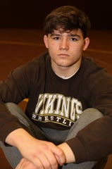 Clarkstown South senior Luke Rogers, a Rockland Scholar-Athlete, at the high school gym March 10, 2020 in West Nyack. Rogers plays football and wrestles.