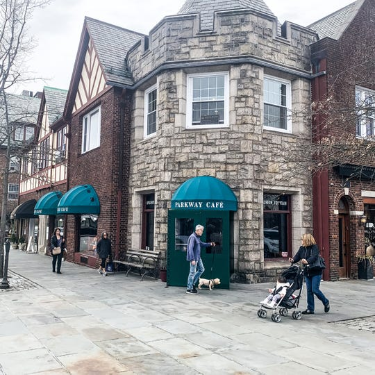 Parkway Cafe in downtown Scarsdale