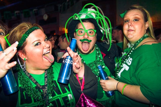 Wilmington's Shamrock Shuffle bar crawl will kick off at 4 p.m. on Saturday at participating bars across the city.