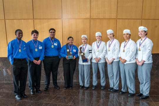 2020 Delaware ProStart Student Invitational Winners 1st Place Management Team from Seaford High School (students: Jaiden Savage, Rodrigo Galaviz, Justin Bazan, Yessica Galavez) 1st Place Culinary Team from Caesar Rodney High School (students: Amy Wong, Hannah Duncan, Morgan Fitzhugh, Ziare Williams, Julia Bryant)