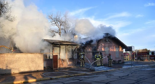 A former daycare facility at 1200 11th Street was heavily damaged by fire Tuesday morning. The Wichita Falls Fire Department said the building is not occupied and no injuries were reported.
