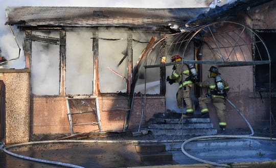 Wichita Falls firefighters were called out shortly after 8 a.m. Tuesday morning to extinguish a structure fire in the 1200 block of 11th Street.