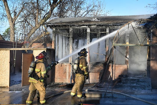 A Wichita Falls Fire Department official said the fire at a former daycare facility began in the back of the building and that it was not occupied at the time.