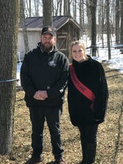Alice in Dairyland Abigail Martin joins Jesse Wagner, a third generation maple syrup producer, at his business Inthewoods Sugar Bush.