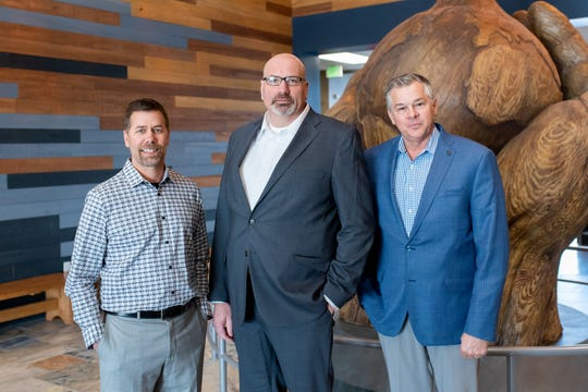 Leaders from Milk Source LLC of Kaukauna, Wis., from left, John Vosters, Todd Willer and Jim Ostrom have been named Dairy Producers of the year and will be honored at the 2020 Expo Recognition Awards this fall during World Dairy Expo. The group was nominated and selected by their peers for making instrumental contributions to the dairy industry and their communities.