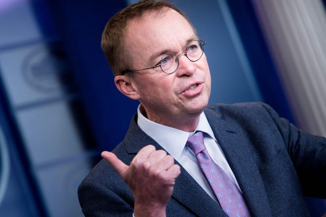 Acting White House chief of staff Mick Mulvaney 450