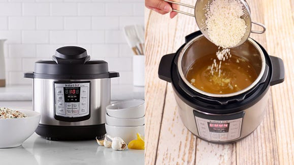 This Instant Pot is the ideal size for smaller batches—and it's on sale.