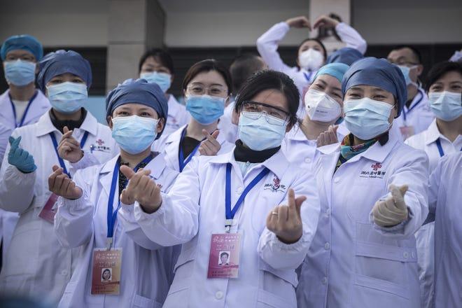 Image result for china celebrates coronavirus