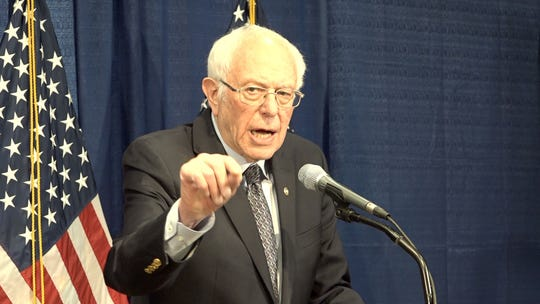 Bernie Sanders said he is still in the race and looking forward to taking on Joe Biden in one-on-one debates. Sanders made the announcement in a press conference in Burlington March 11.