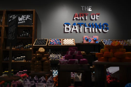 Lush Cosmetics features handmade, 100% vegetarian products for hair, face and body. It will open its doors Monday, March 16 at La Palmera mall in Corpus Christi.