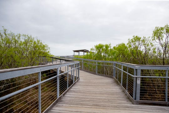The Oso Bay Wetlands Preserve and Learning Center is a 162-acre nature preserve with trails and overlooks. Visitors can borrow binoculars at the visitor center during business hours. It is located at 2446 N. Oso Parkway and admission is free.