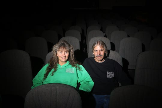 Jodi and Kim Lowe purchased Shelby Theaters in Coshocton's Downtowner Plaza in 2008.