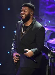Khalid performs during the Pre-GRAMMY Gala and GRAMMY Salute to Industry Icons Honoring Sean (Diddy) Combs on Jan. 25, 2020, in Beverly Hills, Calif.