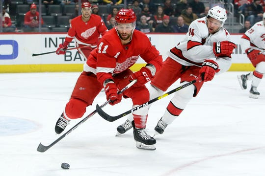 When the Detroit Red Wings lost to the Carolina Hurricanes on March 10, it guaranteed that the wings would be completed in the last place.