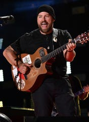 Zac Brown and the Zac Brown Band blend country, folk and southern rock.