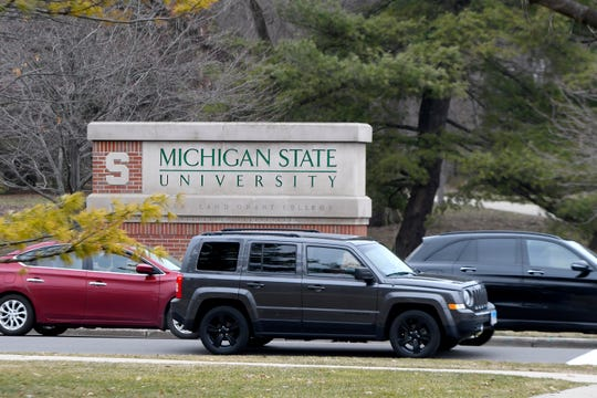 Michigan State has shifted to online courses for the restof the semester.