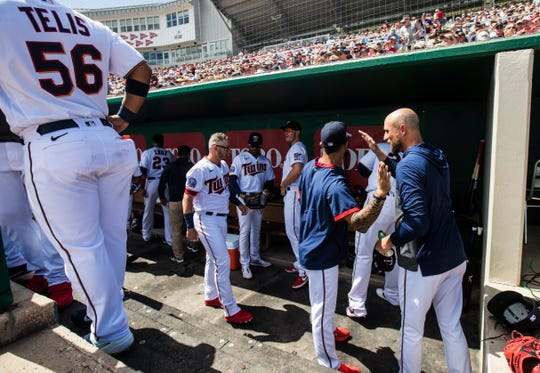Rocco Baldelli is starting his second season as manager for the Minnesota Twins.