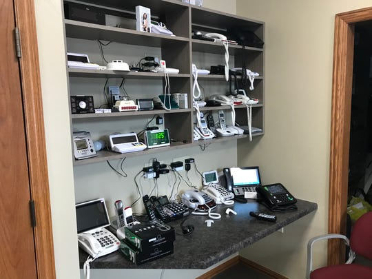 Options for Independent Living's Green Bay area offices showcase technology, room designs and home fixtures that can be incorporated into homes and apartments to increase accessibility and function.