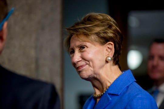 Barbara Barrett, the Secretary of the Air Force, in 2019.