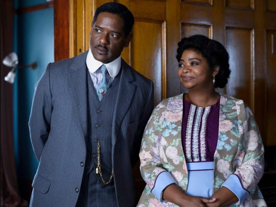 """Octavia Spencer, right, and Blair Underwood star in """"Self Made: Inspired by the Life of Madam C.J. Walker."""""""