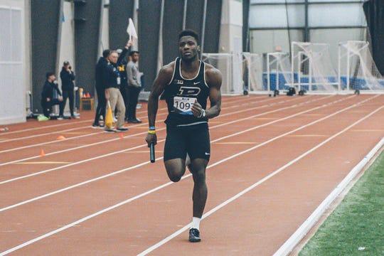 Purdue senior Waseem Williams