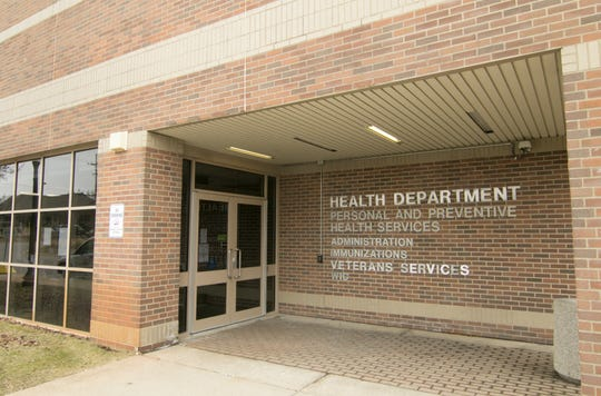 The Livingston County Health Department, shown Wednesday, March 11, 2020, is located in the County East Complex.