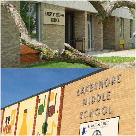 Steffen and Lakeshore Middle Schools received upgrades and renovations to their libraries as part of a 2015 referendum.