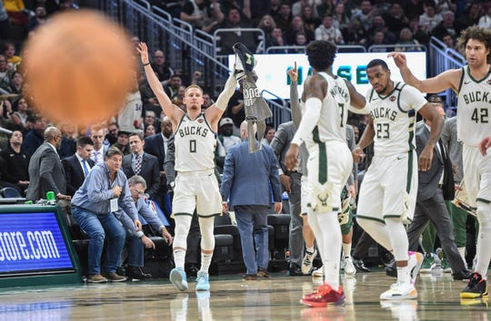 The Bucks would prefer to play in front of their fans with seven of the next eight games at home, but they understand that may not be possible.