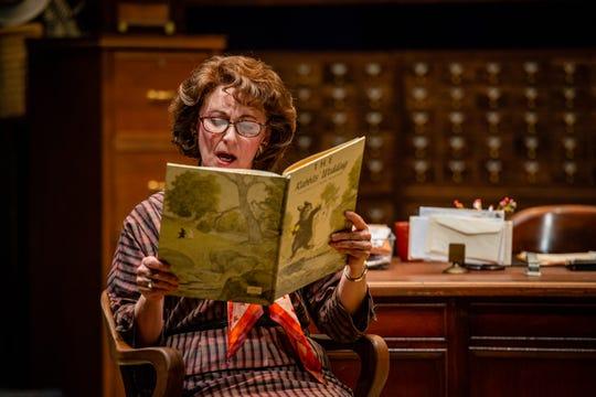 "Greta Lambert in a scene from Alabama Shakespeare Festival's  ""Alabama Story."""