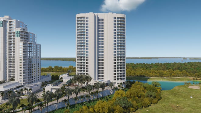 The Ronto Group reported that its 27-floor Omega tower within Bonita Bay is now 40% sold.