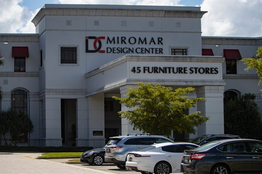 Miromar Design Center is pictured, Wednesday, March 11, 2020, in Estero.