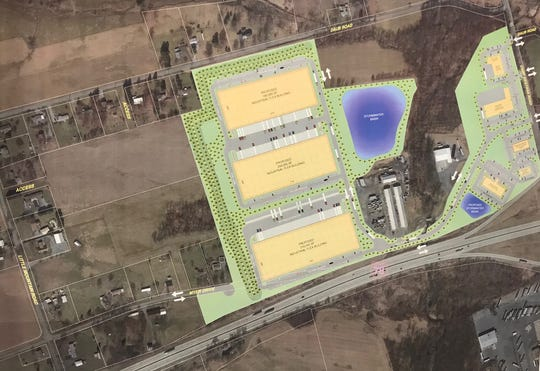 The Bowman's preferred development plan, which will not move forward.