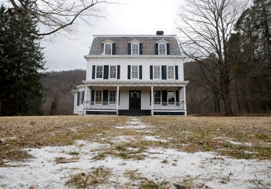 The Pawling farmhouse where A Quiet Place was filmed as seen on March 10, 2020.