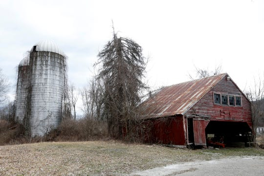 Barns on the farm near the Pawling farmhouse where A Quiet Place was filmed as seen on March 10, 2020.