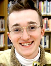 York Suburban junior Steven File, 16, Wednesday, March 11, 2020, became the Pennsylvania's state champion of thePoetry Out Loudcompetition earlier this month. He will represent the state at a national competition in Washington D.C. in April. Bill Kalina photo