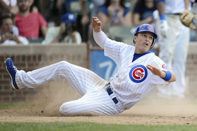 Josh Vitters, seen here playing for the Chicago Cubs, was the No. 3 overall pick in the 2007 MLB draft.