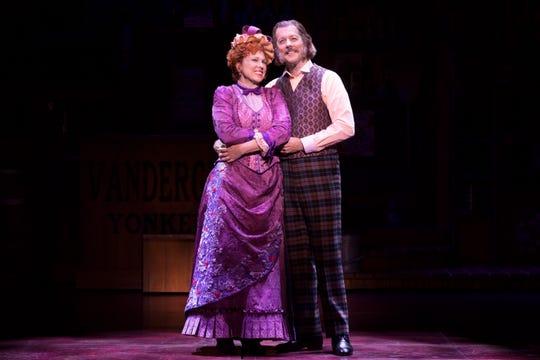 "Carolee Carmello and Rochester's own John Bolton in ""Hello, Dolly!"""