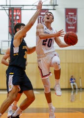 Fairport graduate Dan Masino, who missed most of last season with a hip injury, has returned with a vengeance for Hobart, averaging 12.6 points, 5.1 rebounds and 3.3 assists. His layup in closing seconds beat Springfield 62-61 and sent Statesmen to their first Sweet 16.