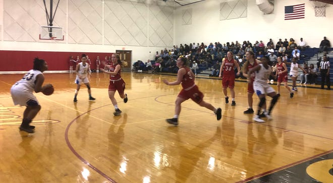 Riverheads fell to Surry County in the state semifinals Tuesday at Sussex Central High School.