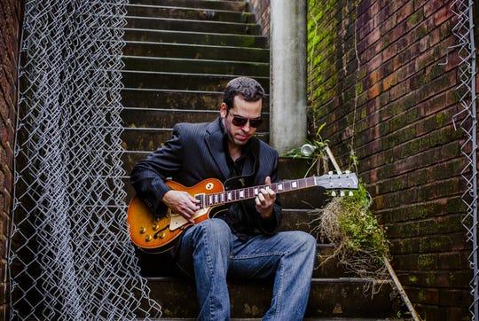 Albert  Castiglia brings his band  to raise the roof at 9 p.m. Saturday at Bradfordville Blues Club.