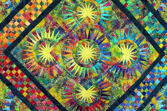 Wheaton Arts and Cultural Center will host A Garden of Quilts, presented by the Garden Patch Quilters, from 10 a.m. to 5 p.m. March 14 and 10 a.m. to 4 p.m. March 15 in the event center at 1501 Glasstown Road in Millville