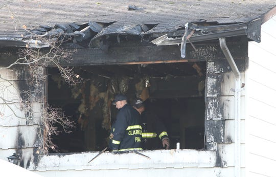 Clarkstown detectives investigate a fatal house fire on Amarillo Drive in Nanuet on Wednesday, March 11, 2020.