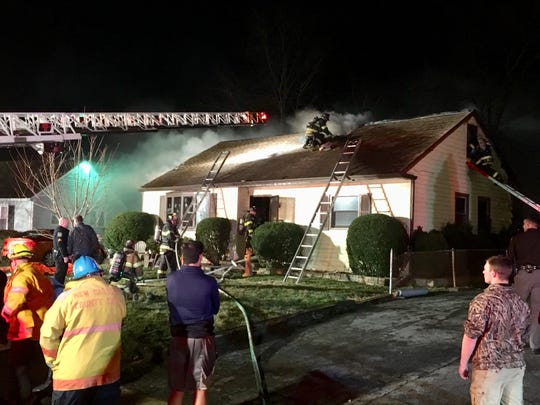 One person was killed in a house fire late Tuesday night  in Chelsea Estates.
