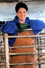 Pam Selz Pralle, president of the 1,900 member Wisconsin Holstein Association.