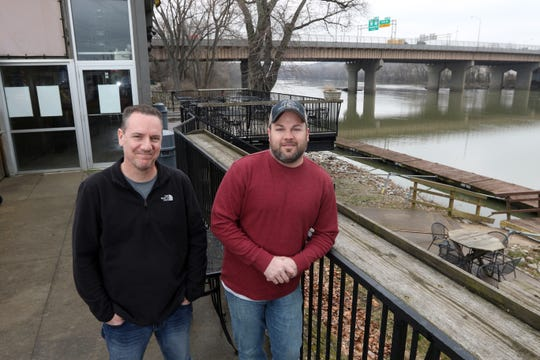 Chris Cameron, left, and Joel Tigner became co-owners of Terry's Tavern in 2018.