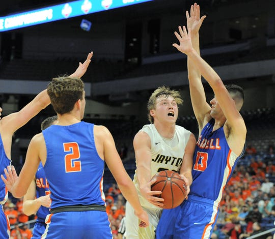 Jayton senior Tye Scogin led the Jaybirds to consecutive state tournament appearances in his final two seasons.