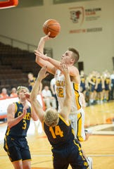 Colonel Crawford's Gavin Feichtner was named Special Mention All-Ohio for the second year in a row.