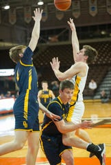 Colonel Crawford's Mason Studer earned Third Team All-T-F honors.