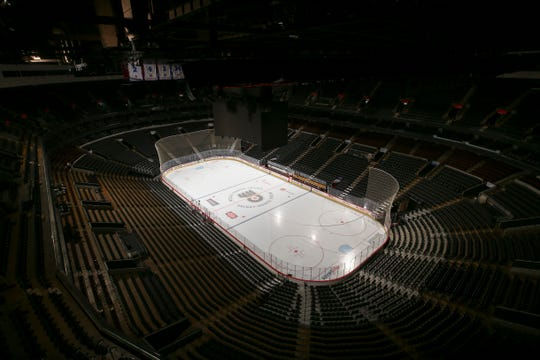 The Flyers are one of 11 NHL teams that share an arena with an NBA team.